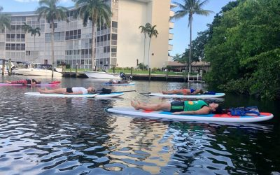 SUP Meditation: being present and enjoying the outdoors
