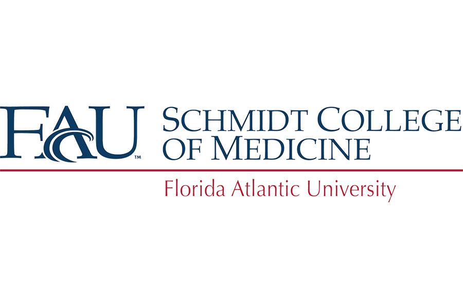 FAU schmidt college of medicine logo
